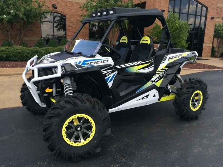 New 2017 Polaris RZR XP 1000 EPS White Lightning ATVs For Sale in Tennessee. 2017 Polaris RZR XP 1000 EPS White Lightning, 2017 Polaris® RZR XP® 1000 EPS White Lightning The benchmark for Xtreme Performance. Power, suspension, and agility for any terrain. Features may include: POWER FEATURES 110 HP PROSTAR® H.O. ENGINE Designed specifically for extreme performance, the Polaris ProStar® 1000 H.O. engine features 110 horses of High Output power and all of the hallmark ProStar® features. This…