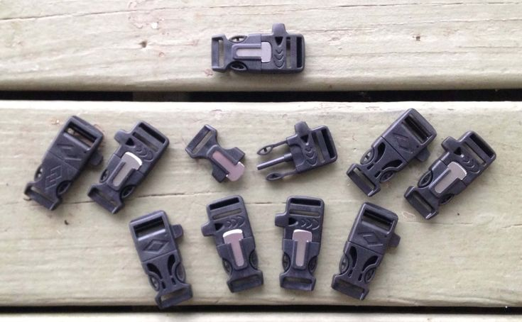 Our Firesteel Buckles come with the emergency whistle and the flint& striker all in one. These fire starter buckles should be part of your EDC in some form