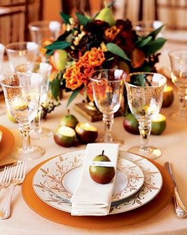 Place settings fall themed weddings pinterest places Places to have a fall wedding