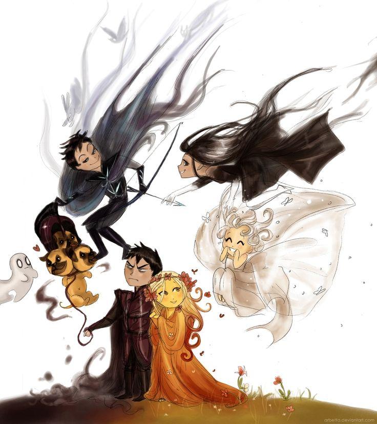 Hades Happy Family 2 Chibi Too By Arbetta Gods And