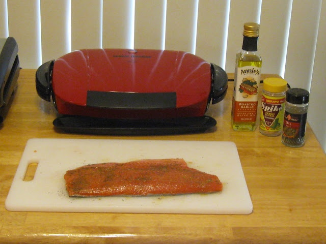 Easy salmon recipes george foreman grill