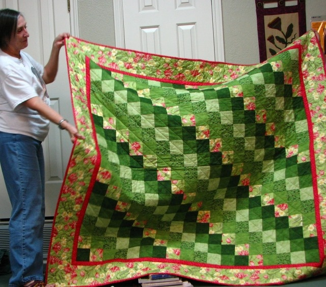 Twisted Rag Quilt Pattern Free : Magic Twist and Stitch 9-Patch quilting my way Pinterest Twists and Stitches