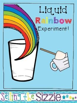 Use this experiment journal to document your procedures when making a liquid rainbow! See full details here: http://sellingthesizzle42.blogspot.com/2014/03/making-liquid-rainbow.htmlPlease be respectful and have integrity and purchase an additional license if you are wanting to share my product.