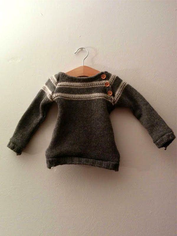 Ogni occasione è buona per reinventare un vecchio capo. Anche questa volta un vecchio maglione rovinato mi ha regalato una grande soddisfazione.