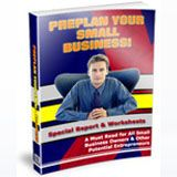 25 jam packed report pages and five worksheets. Everything you should be thinking about or organizing BEFORE you start that new #small business. Includes: 25 page report, eCovers in psds & jpegs. Word.doc source & pdf.