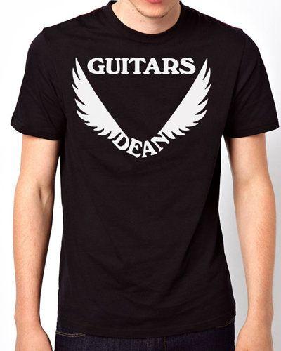 iOffer: New T-Shirt Dean Guitars Logo Men Short Sleeve for sale