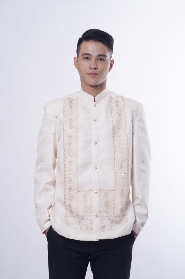 BW - Barong Tagalog Jacket 001