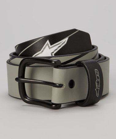 Take a look at this Black Belt by Alpinestars on #zulily today!