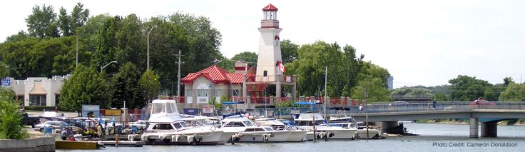 Take a stroll along Mississauga's Port Credit. Pop in to some local business, unique boutiques, or hitch a ride on a fishing boat.