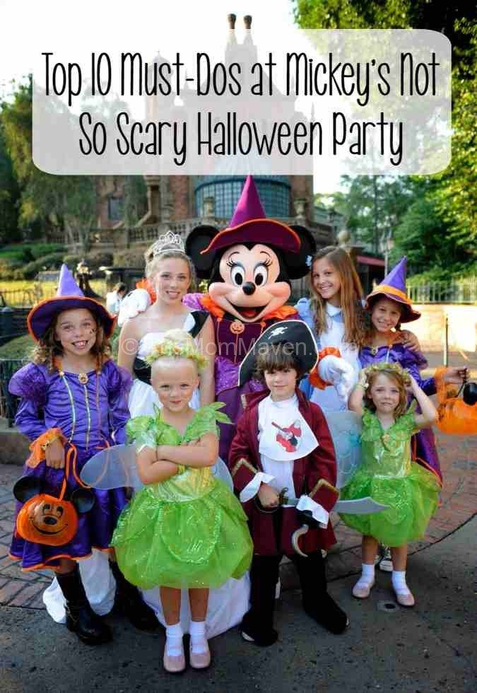 Top 10 Must-Dos at Mickey's Not So Scary Halloween Party