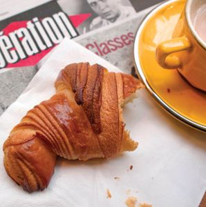 Paris's Best Croissants article by David Lebovitz in Travel and Leisure Magazine