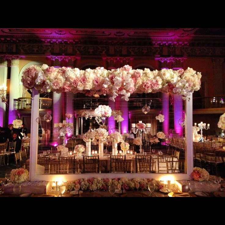 Creating beautiful ambiance at the Millennium Biltmore