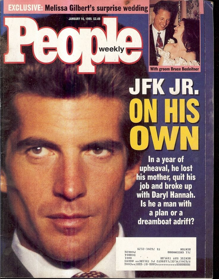 People Magazine John F Kennedy Jr Bruce Boxleitner Melissa Gilbert 1 16 95 | eBay