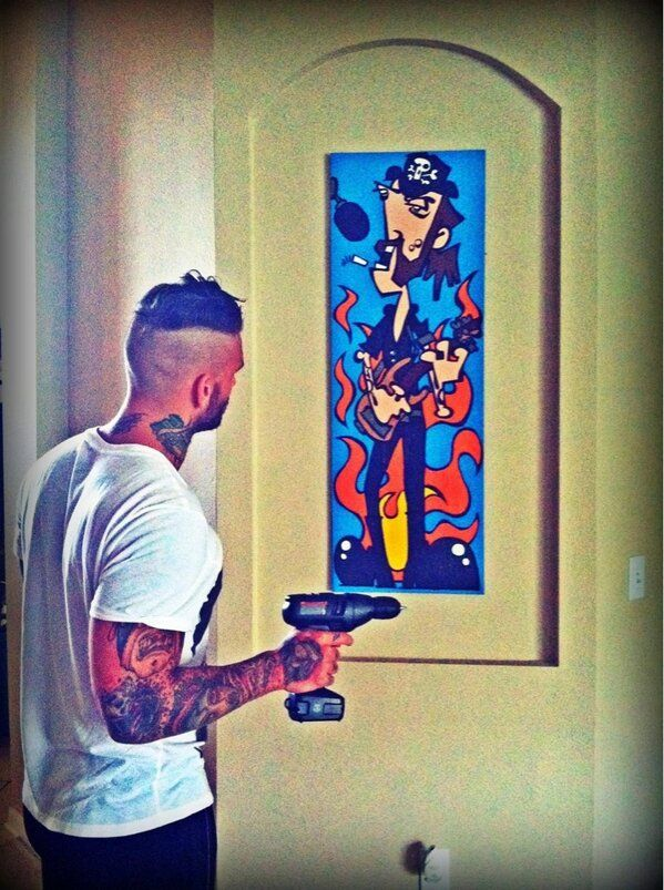 Corey graves tattoos the image kid has it for Corey graves tattoos