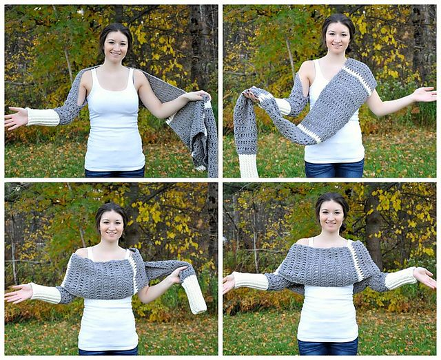 Ravelry: Warm Hug Shrug pattern by Sincerely Pam