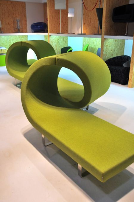 Segis - Highway Bench. I was soooo excited when this showed up in my work's showroom the other day <3