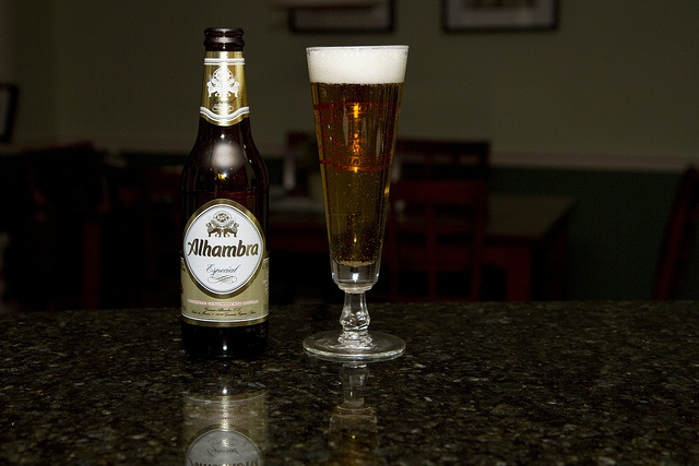 Alhambra Beer - from Spain! (Cheers Jenni and Jose!)
