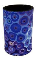 Utopia Can Cooler Soakage (Blue) Lena Pwerle Code:  COOL-UC/LP-SB   Price:  $9.00 or 3 for $25.00