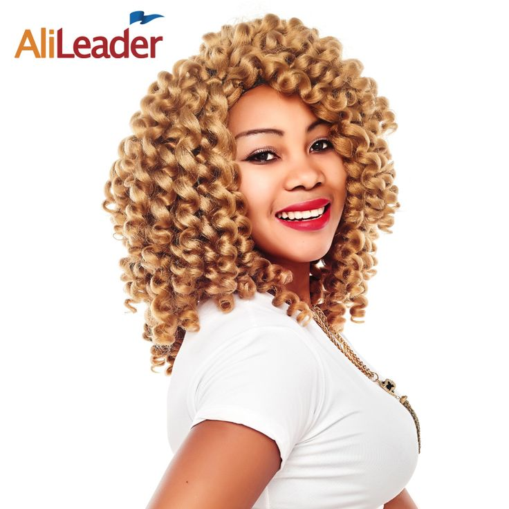 AliLeader Synthetic Hair Extensions Jamaican Bounce Hair, Freetress Crochet Braids Hair Weaving Afro Braiding Hair 2Pcs/lot