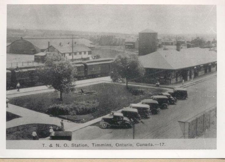 Timmins Train Station 40's