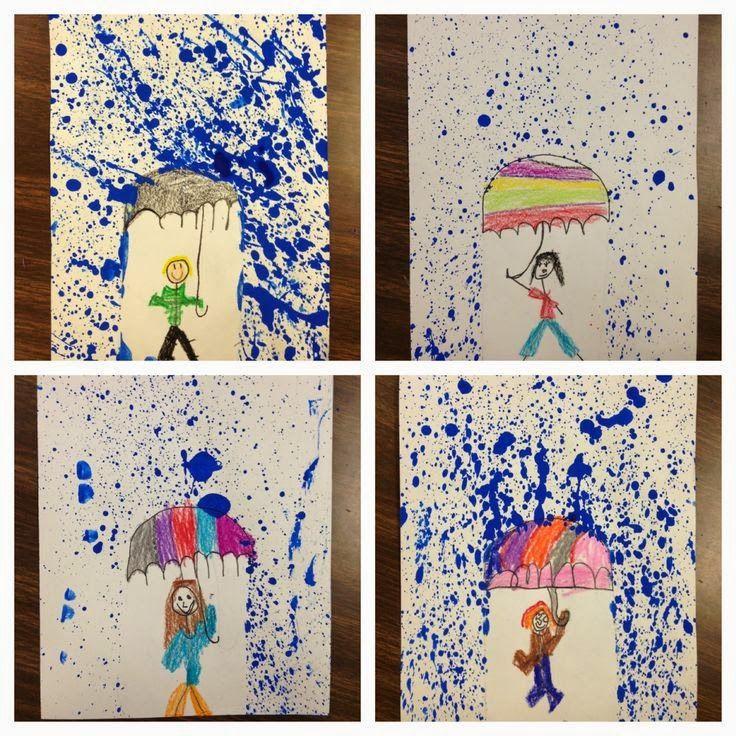 Okulöncesi Sanat ve Fen Etkinlikleri: Okulöncesi Yağmur Etkinliği