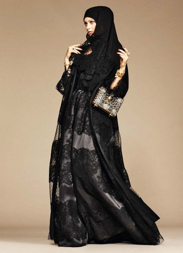 Dolce & Gabbana Releases Its First-Ever Collection of Hijabs and Abayas | WhoWhatWear