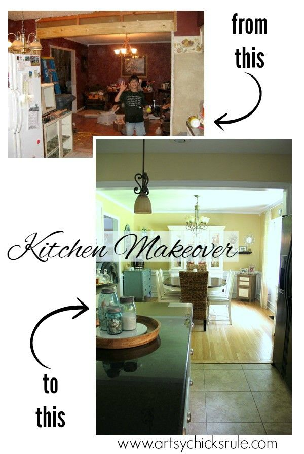 Major Kitchen Remodel Before After Kitchens And Kitchen Makeovers