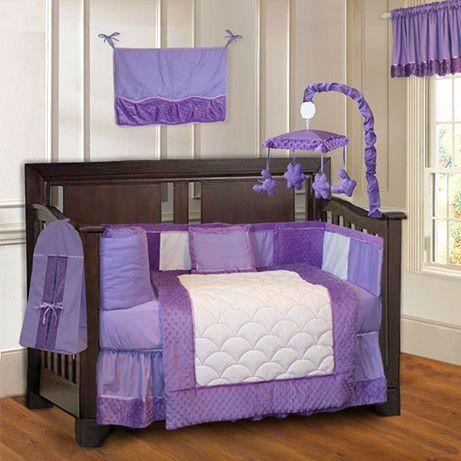 Babyfad Minky Baby 10 Piece Crib Bedding Set