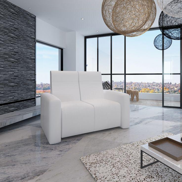 Wat vinden jullie van deze verstelbare tweepersoons fauteuil? Je vindt 'm nu voor bijna de helft van de prijs! #korting #uitverkoop #sale #wonen #huis #inrichting #interieur #design #meubelen #bank #stoel #fauteuil #wit