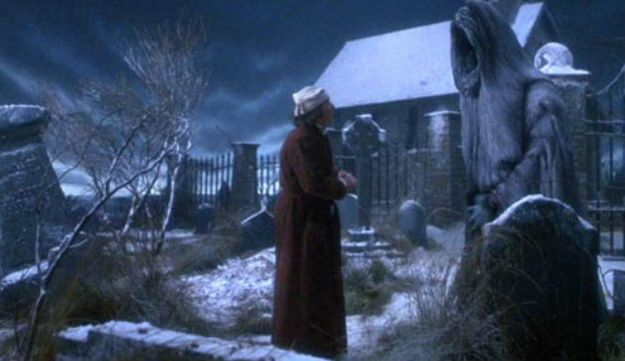 "The ghost of Christmas yet to come is terrifying! Always one of the main reasons why I love watching different versions of ""A Christmas Carol."" I love waiting for ""Future"" to appear. :)"