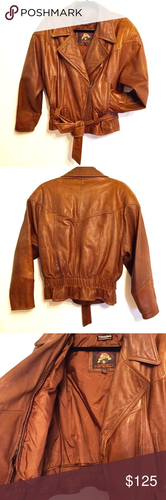 AdventureBound Thinsulator Wilson's Leather Jacket
