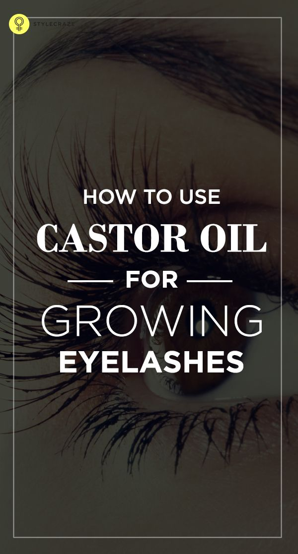 What Makes Castor Oil Good For Eyelash Growth?