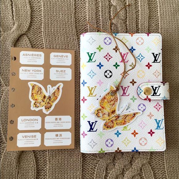 LV Multicolor Agenda PM Rare discontinued beautiful Louis Vuitton multicolor agenda / wallet. In MINT condition! ️️welcome! Louis Vuitton Bags Wallets