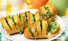 Батон с чесноком - рецепт приготовления с фото | FOODideas.info
