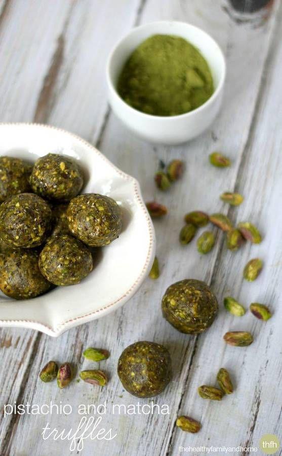 energy balls pistaches matcha recette minceur healthy food recettes healthy pinterest. Black Bedroom Furniture Sets. Home Design Ideas