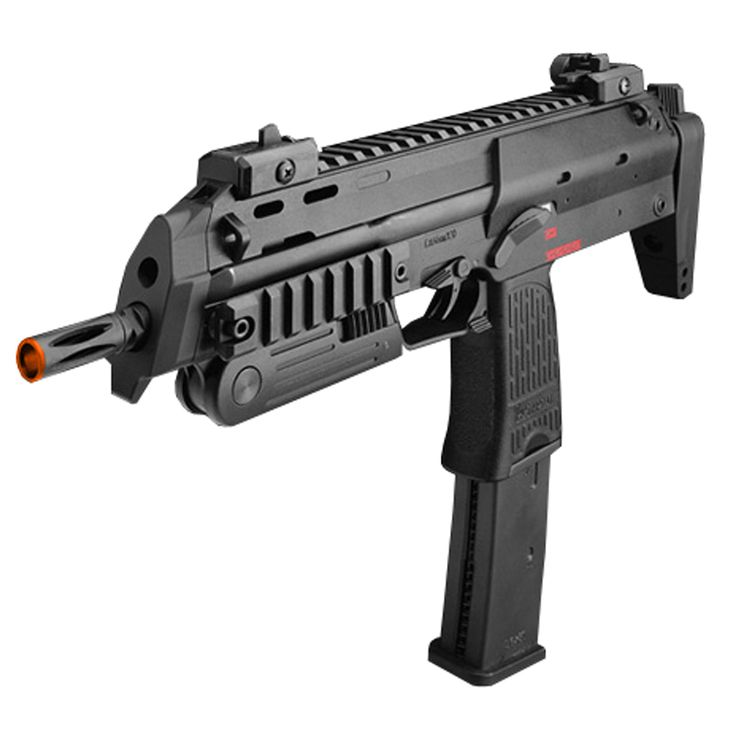 Might get this in the near future. Maybe when the paychecks start adding up... It's an MP7A1.