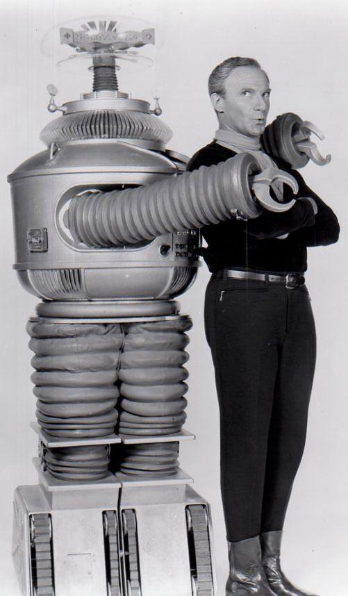 B9 ROBOT from LOST IN SPACE.