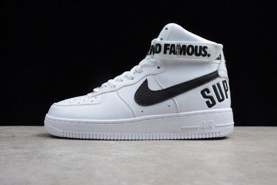 1225b9613a2 Nike Air Force 1 High Supreme SP  Supreme  698696 100