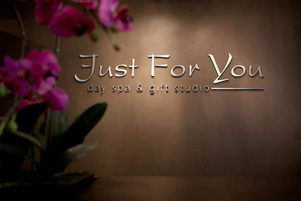 Just For You Day Spa gift card. Tay and I get couples massages here.