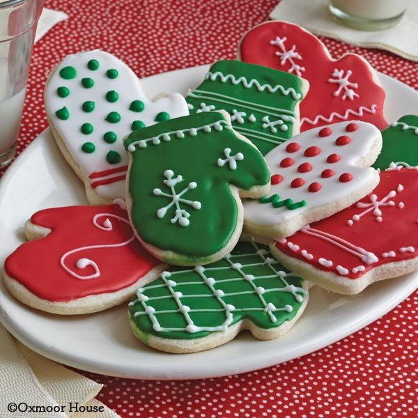 Gooseberry Patch Recipes: Sugar Cookie Mittens