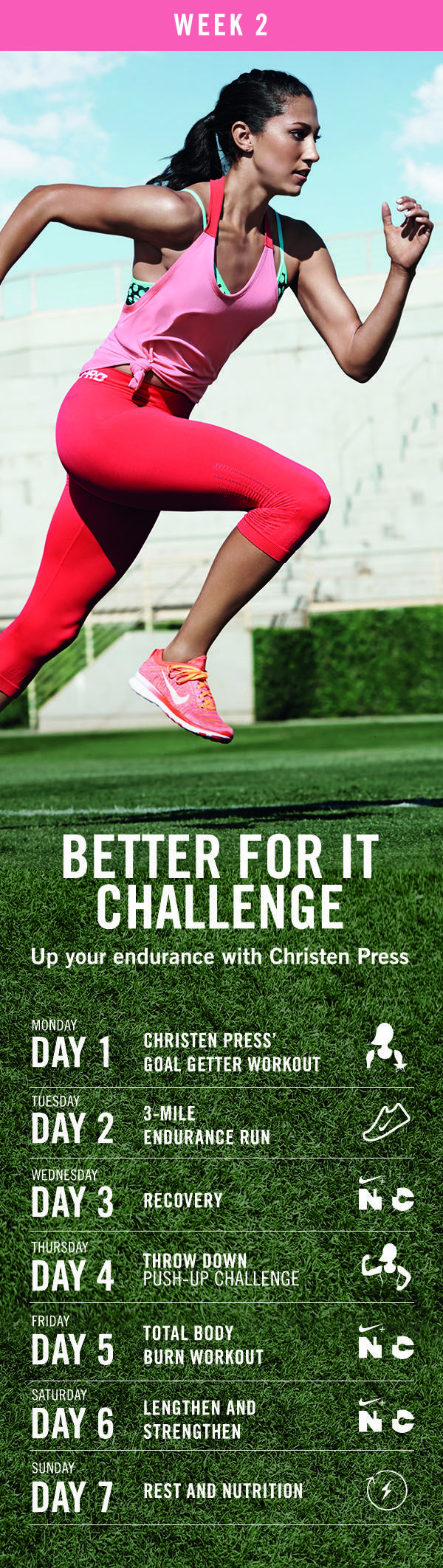 Have you joined the Nike Training Club yet? I love these awesome and varied  workouts. Variety is the spice of life so it\u0027s a great way to keep  motivated and ...