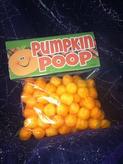 Just Stuff It! Halloween Treat Bags :