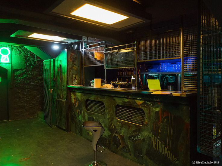 """This is Paris' Dernier Bar Avant La Fin Du Monde, or """"Last Bar Before the End of the World,"""" and it's the geekiest bar there is."""