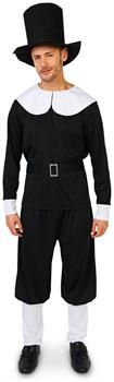 PartyBell.com - Plymouth Pilgrim Male Adult Costume