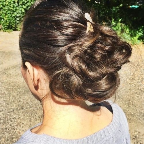 fast and easy banana clip bun