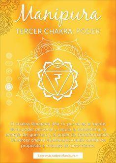 """El tercer chakra se llama Manipura,que significa """"gema brillante"""". Está ubicado en el ombligo y en el área del plexo solar hasta llegar al este."""