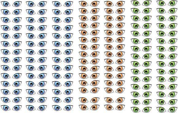 Adesivo de olhos. Cod.247-P