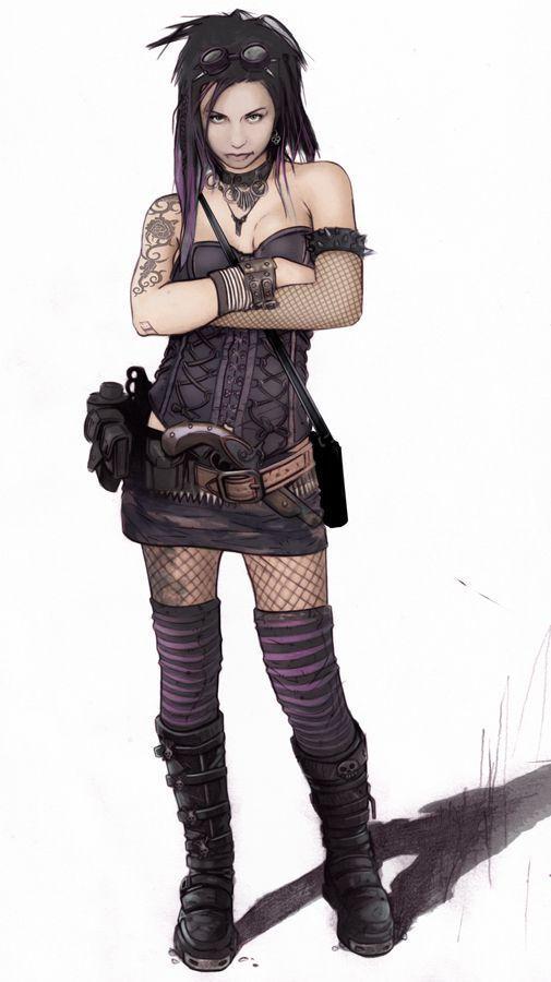 Новости   Concept art, Cyberpunk character, Apocalyptic ...
