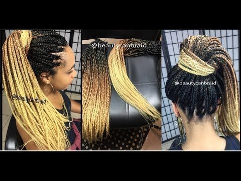 How to pre braid weave for box braids