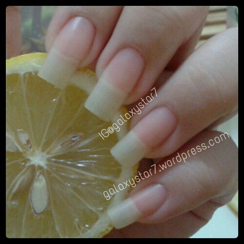 "Garlic for Strong Nails | That's how my nails looked like after the ""natural treatment"" I ..."